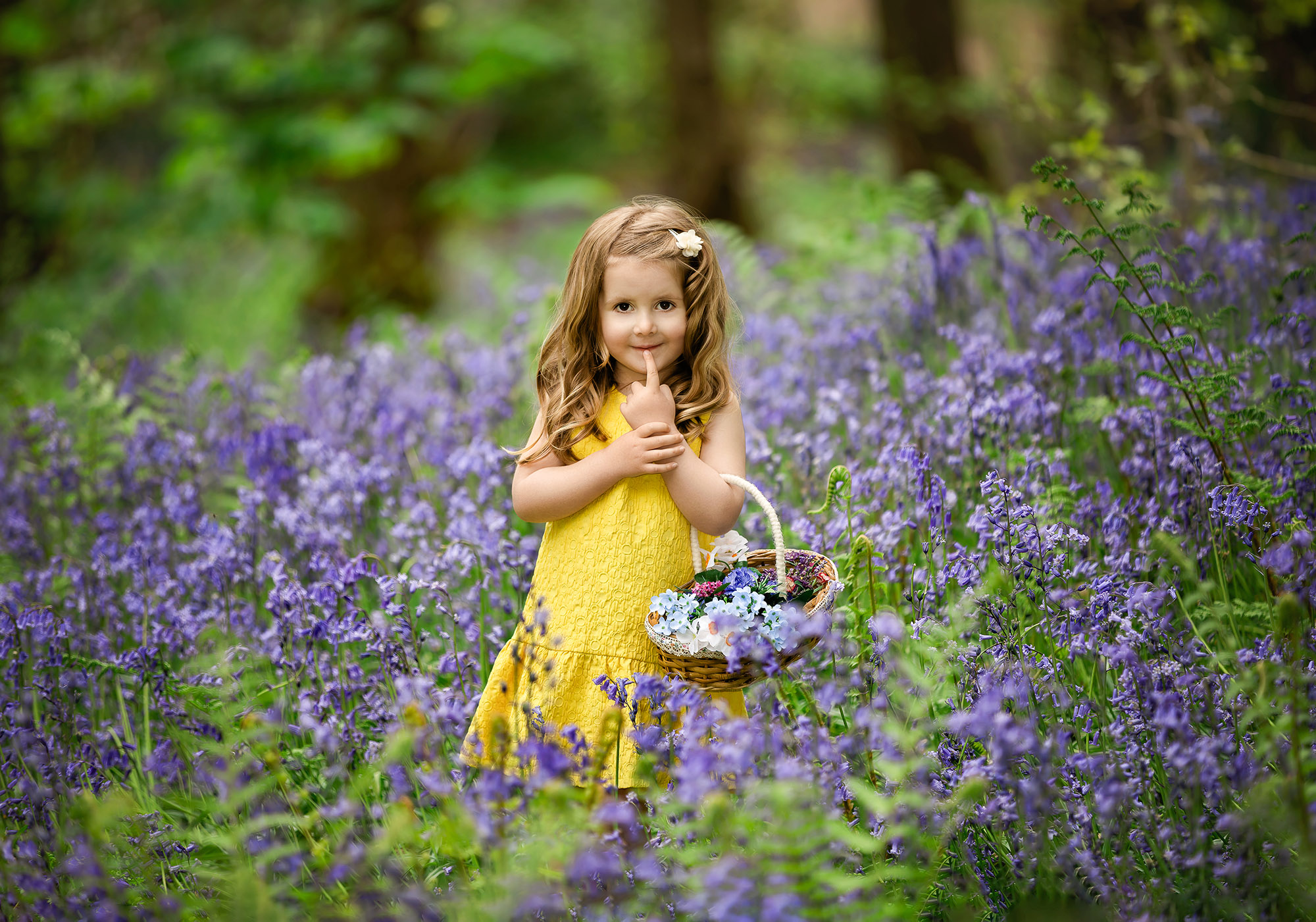 Bluebell Photo Shoots   Ilkley   Yorkshire   Family Photographer