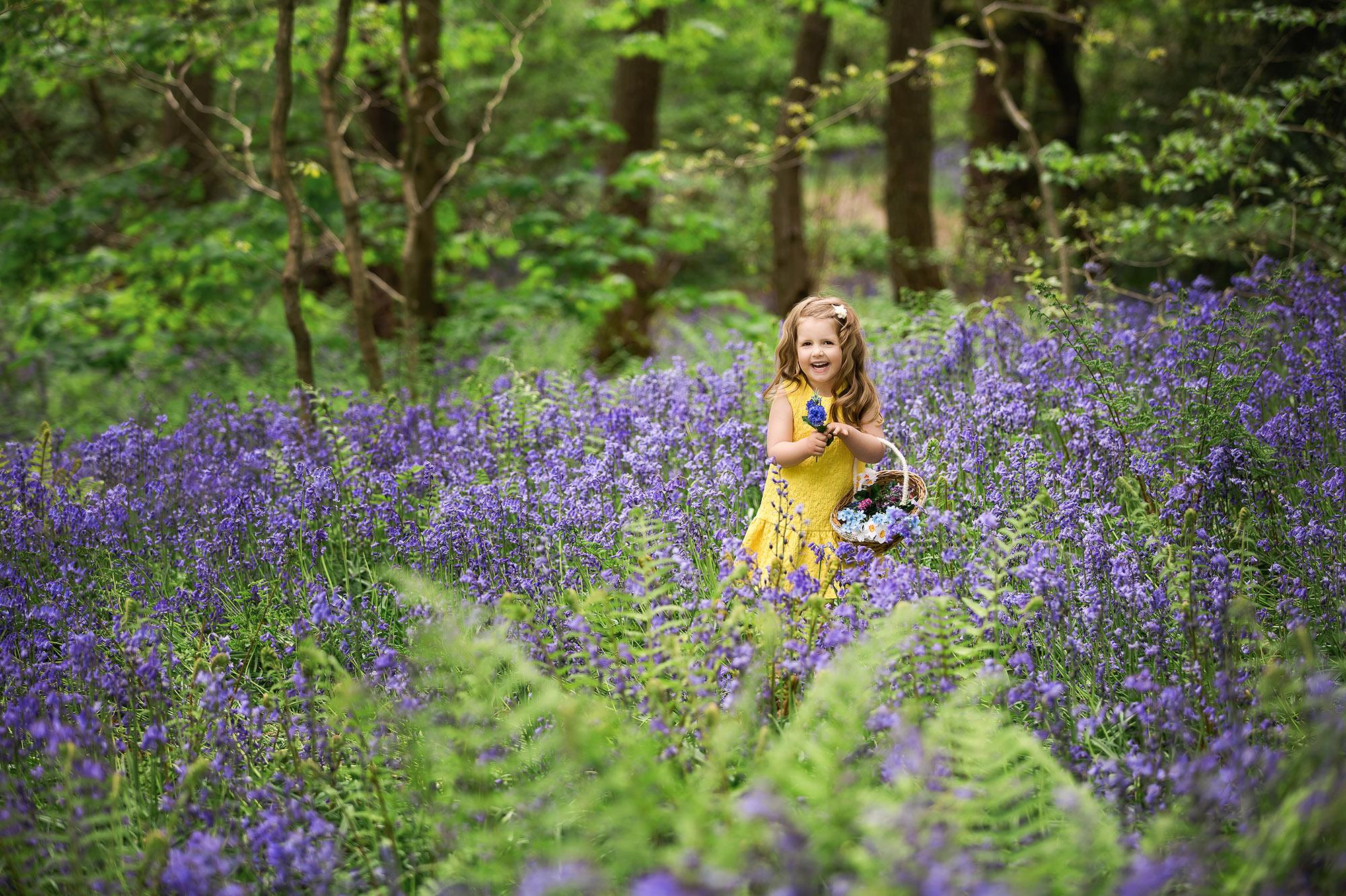 Bluebell Photo Shoots   Skipton   Yorkshire   Family Photographer